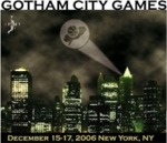 Gotham Games tourney logo