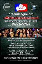 tabu lounge dreamleague party 9/15/07 1of2