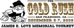 San Francisco Gold Rush tourney logo