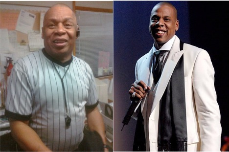 Shawn Carter Jay-Z puts on the stripes for dreamleague ;-P
