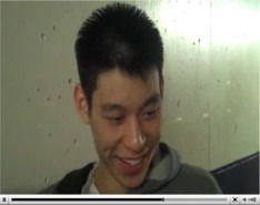 Jeremy Lin talks about his dunk (click for interview).