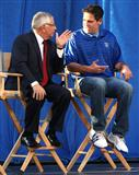 Mark Cuban and David Stern.
