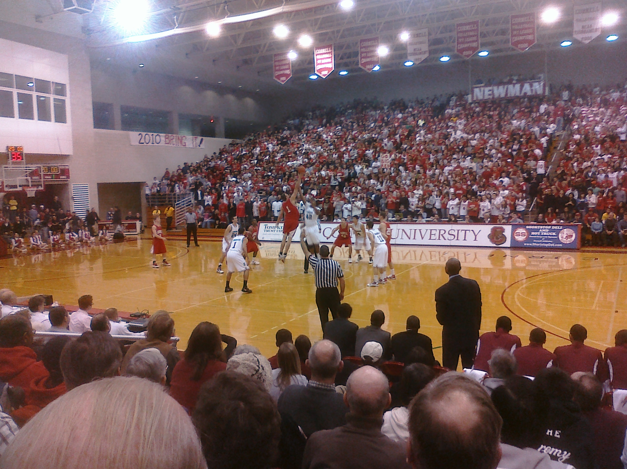 Harvard-Cornell tipoff. Can we have a do-over?