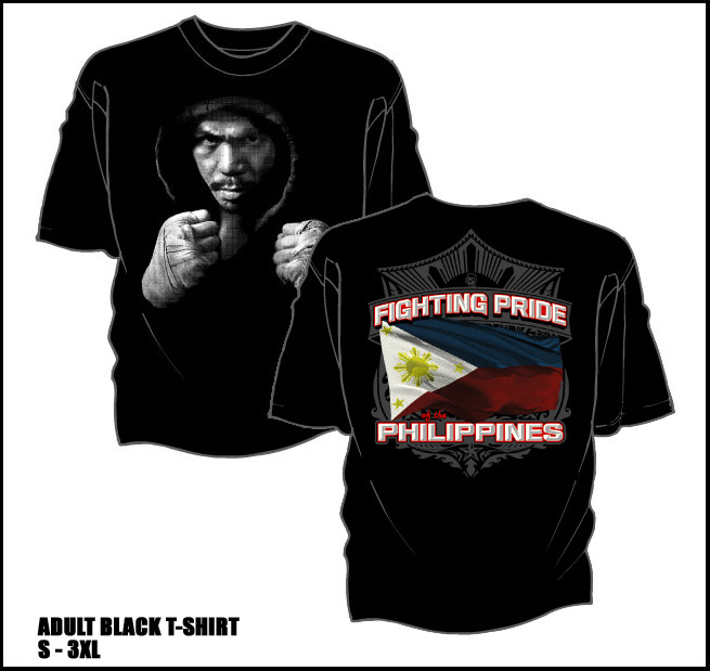 Manny Pacquiao adult t-shirt