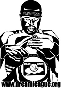 dreamleague t-shirt oaktown jax inspired by tony.psd's rendering of stephen jackson
